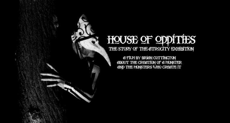 ... of his feature length documentary house of oddities the story of the